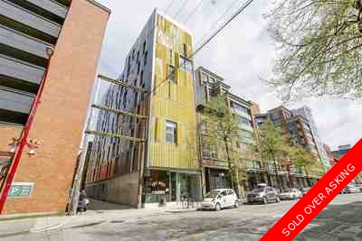 Mount Pleasant VE Condo for sale:  1 bedroom 529 sq.ft. (Listed 2017-10-19)