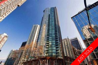 Coal Harbour Condo for sale:  1 bedroom 673 sq.ft. (Listed 2017-12-12)