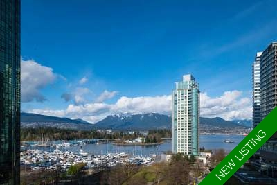 Coal Harbour Condo for sale:  2 bedroom 1,340 sq.ft. (Listed 2018-03-22)